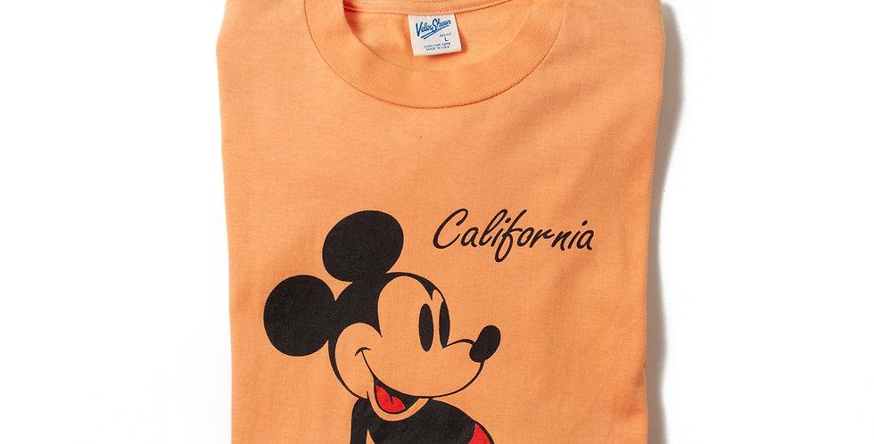 【L】1990年代 ビンテージ ミッキーマウス Tシャツ M-28