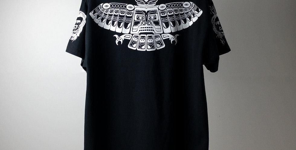 アンソニーキーディス タトゥー Tシャツ ブラック