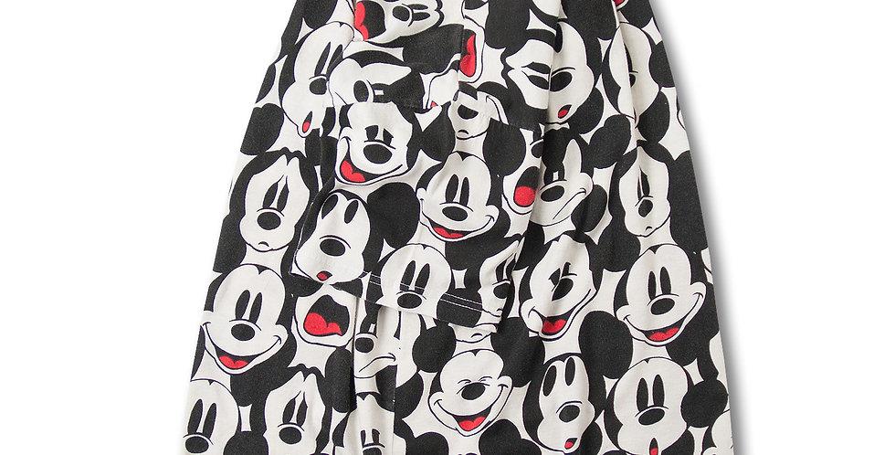 1990年代 ディズニーランド パリ スーベニア ミッキー 総柄 Tシャツ