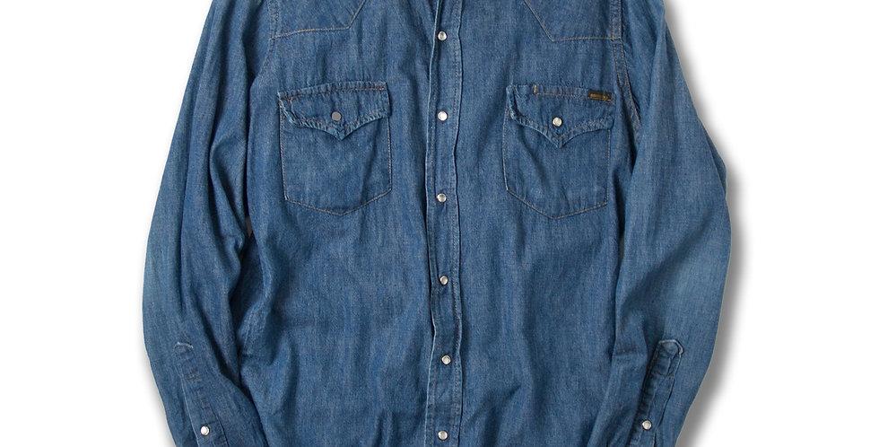 1970年代 Sears ROEBUCKS デニムウエスタンシャツ