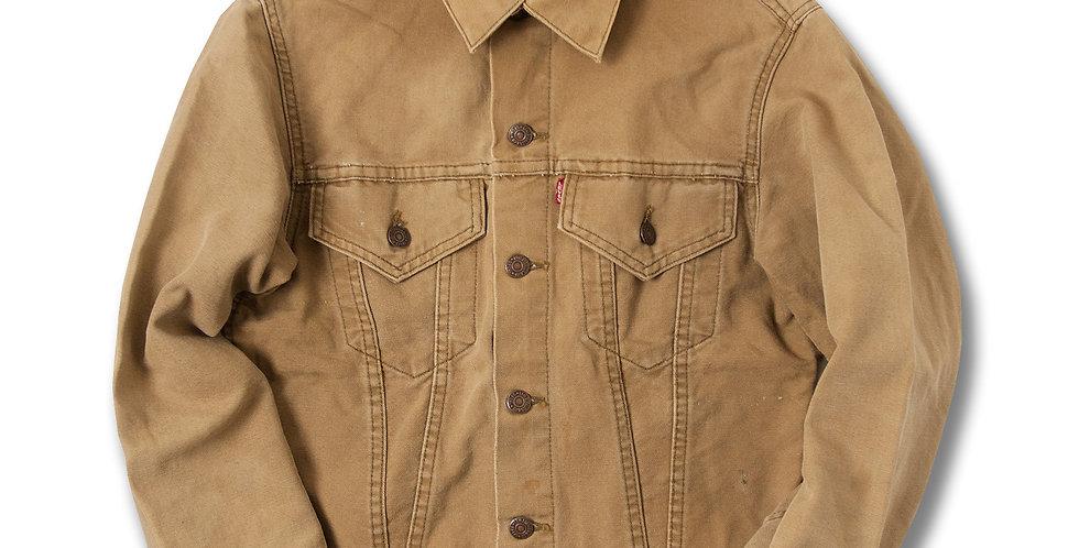 【36】 1960年代 リーバイス 71519 ビッグE ブラウンキャンバス ジャケット