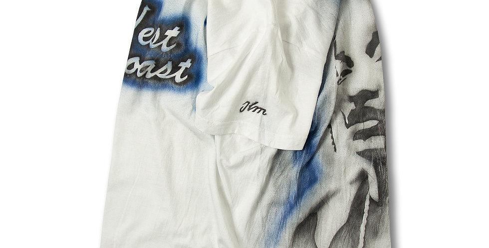 West Coast SnoopDogg エアブラシ アート Tシャツ