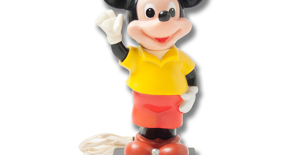 1970年代 ビンテージ ミッキーマウス ポータブルランプ 日本製