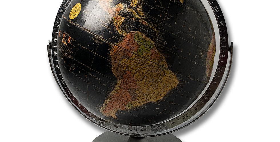 1970年代 REPLOGLE GLOBES INC. ブラックオーシャン地球儀