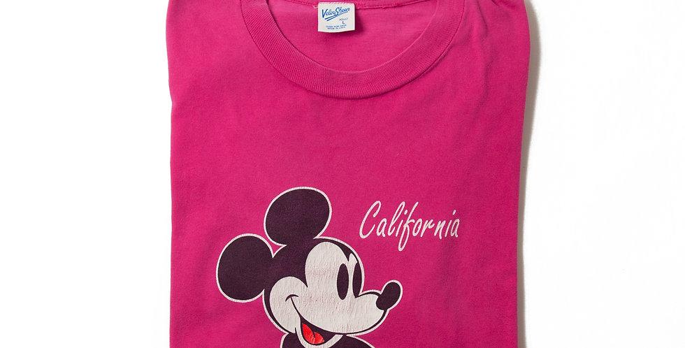 【L】1990年代 ビンテージ ミッキーマウス Tシャツ M-18