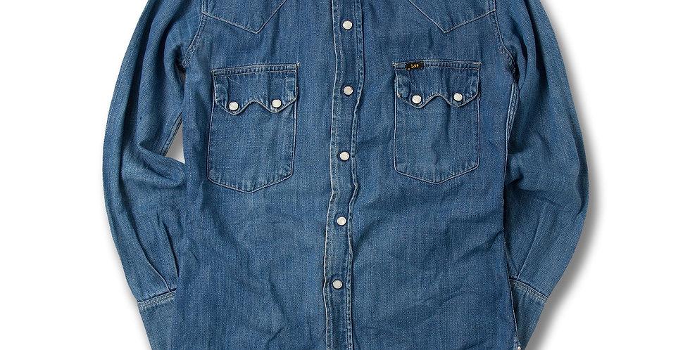 1950年代 Lee Rider Shirt ビンテージ デニムウエスタンシャツ