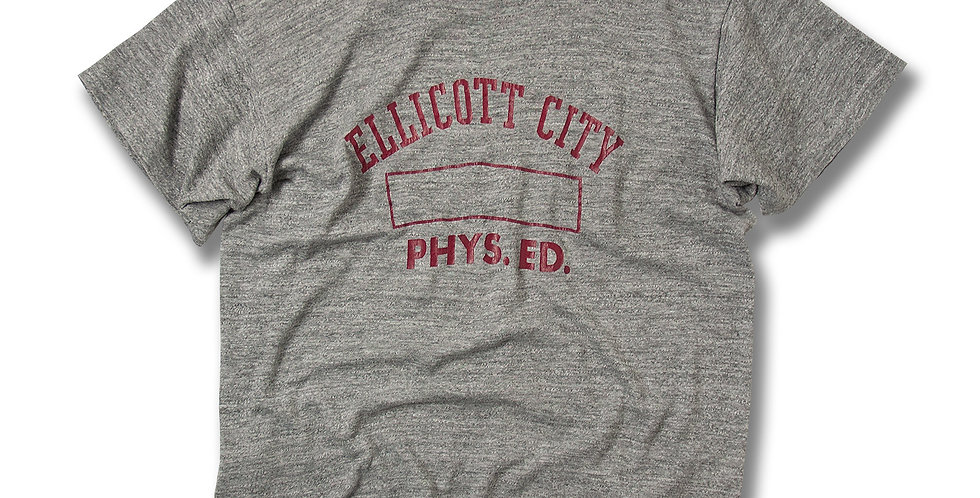 1970年代 ラッセル金タグ カレッジプリント Tシャツ