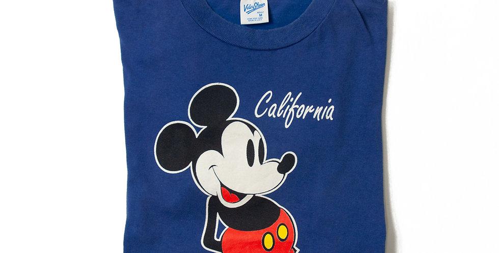 【M】1990年代 ビンテージ ミッキーマウス Tシャツ M-10