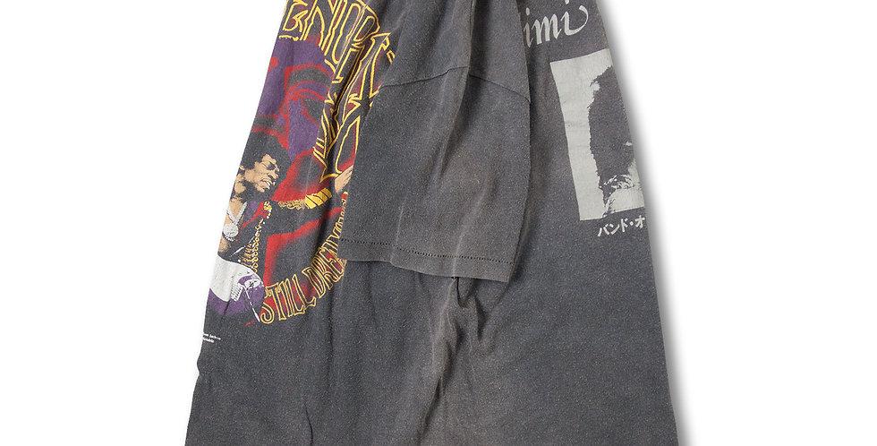 1982年 ジミ・ヘンドリックス バンドオブジプシーズ Tシャツ