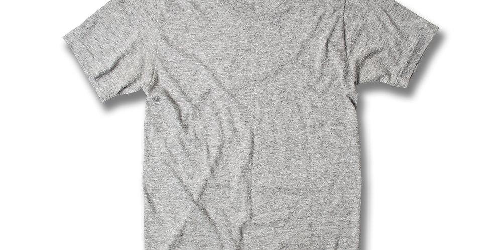1980年 Stedman 杢グレー ブランクTシャツ ボーイズサイズ