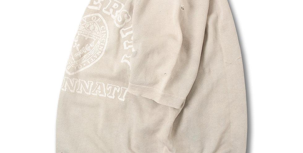 1960年代 ビンテージ 半袖スウェット UofC