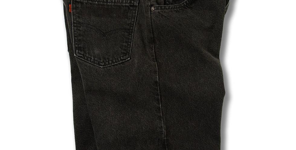 1994年製 リーバイス550 ブラックデニムショーツ