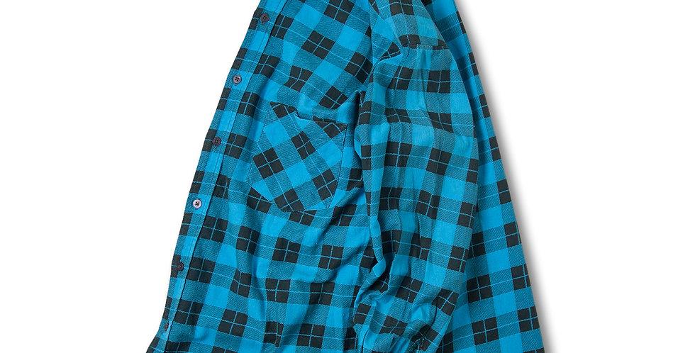 1990年代 SAUGATUCK(ソーガタック)プリントフランネルシャツ
