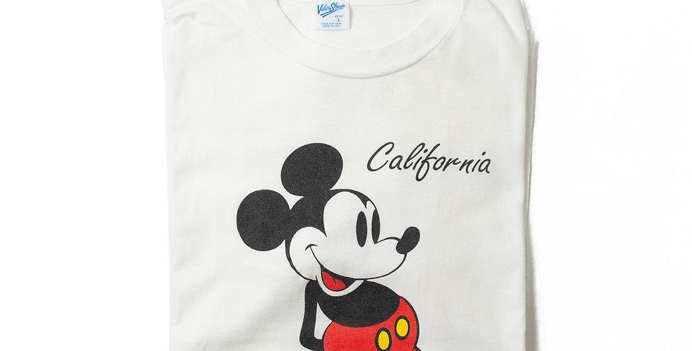 【L】1990年代 ビンテージ ミッキーマウス Tシャツ M-22