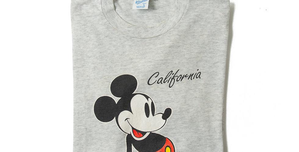 【L】1990年代 ビンテージ ミッキーマウス Tシャツ M-24