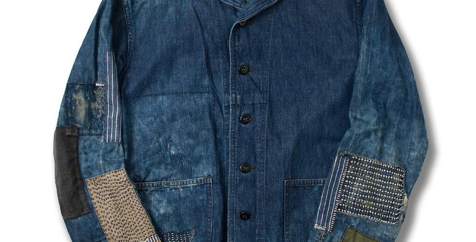 1950年代 U.S.NAVY ショールカラー デニムジャケット サイズ36