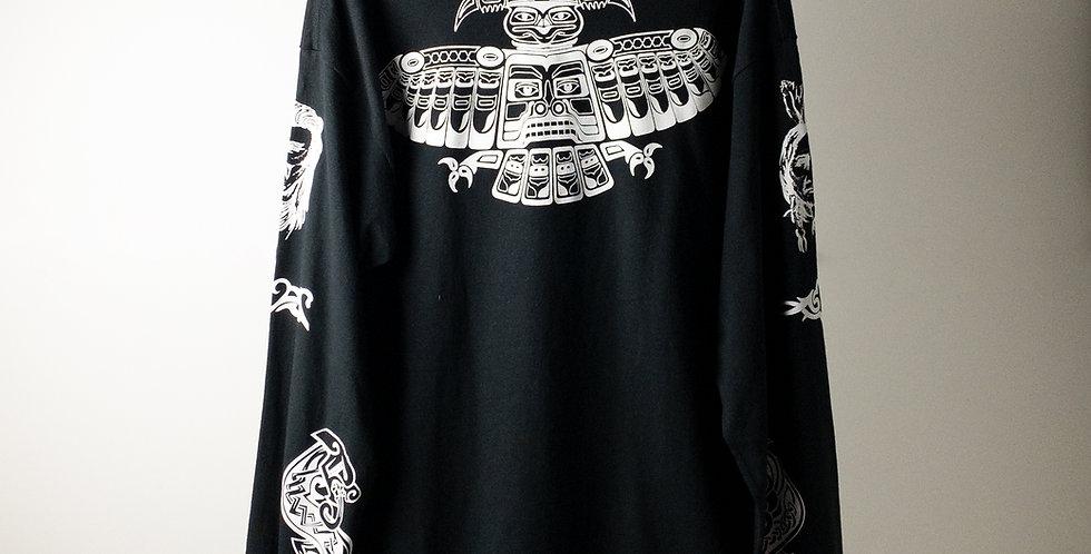 アンソニーキーディス タトゥー L/S Tシャツ ブラック