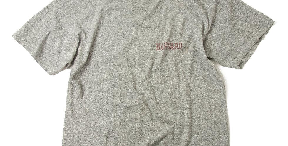1980年代 チャンピオン 8812 杢グレー Tシャツ HARVARD