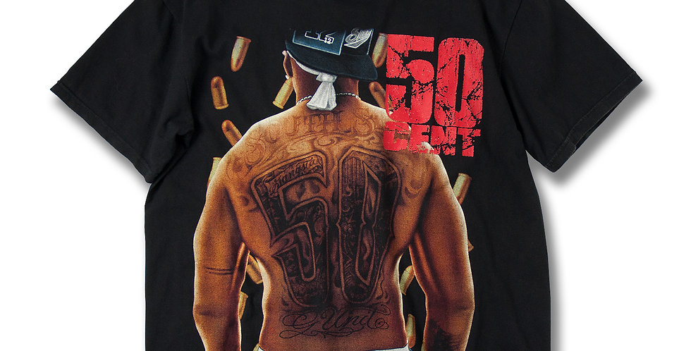 50cent POWER OF THE DOLLAR Tシャツ