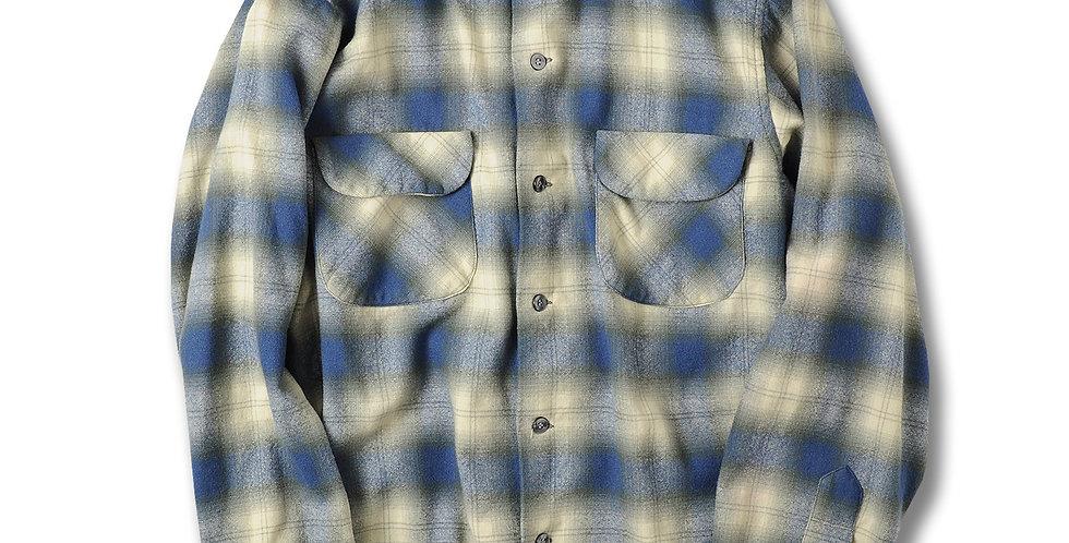 1960年代 ペンドルトン ボードシャツ オンブレーチェック