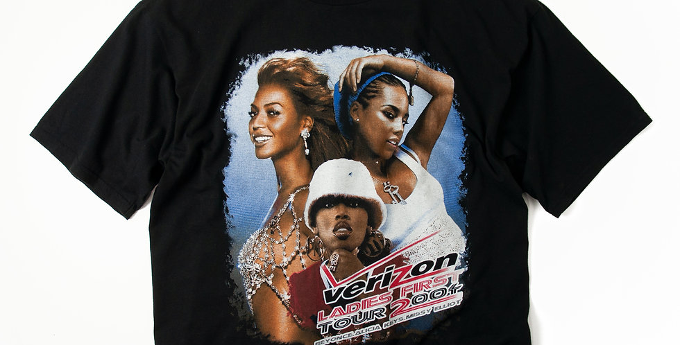 2004年 verizon LADIES FIRST TOUR Tシャツ