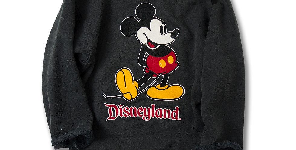1980年代 ミッキーマウス スウェット カスタムカットオフ
