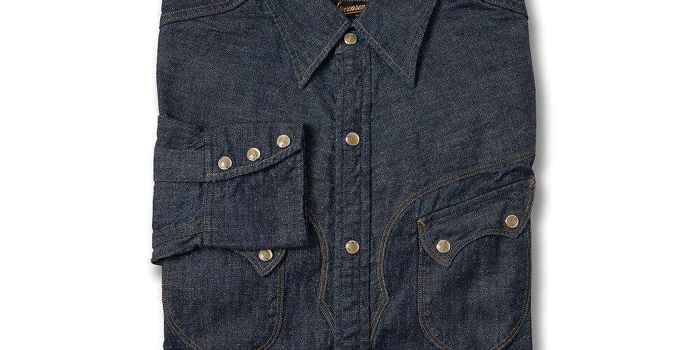 STEVENSON OVERALL CODY 6.5oz Denim Western Shirt