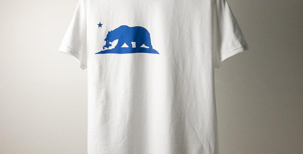 FREEWAY BIG-LOGO T-SHIRT WHITE