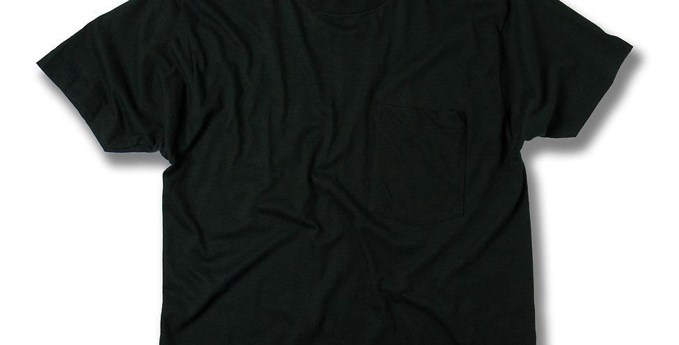 1970年代 フルーツオブザルーム 黒ポケT デッドストック L