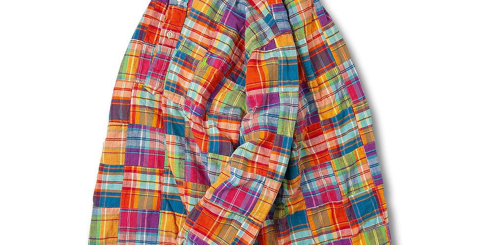 Ralph Lauren パッチワーク プルオーバー シャツ