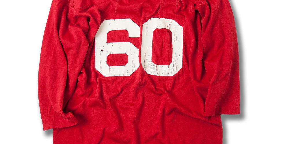 1970年代 チャンピオン アセテートレーヨン フットボール Tシャツ ジャンクコンディション