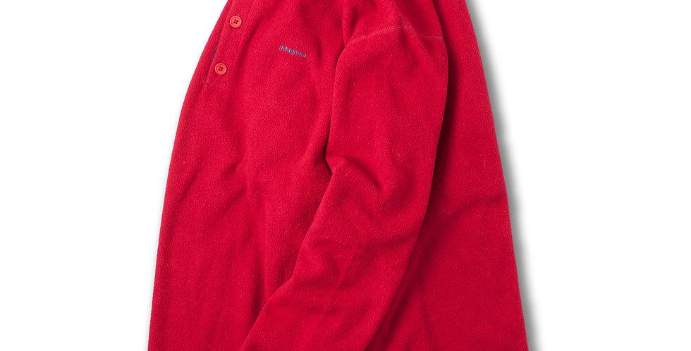 1995年製 パタゴニア キャプリーン ヘンリーネック フリース レッド M