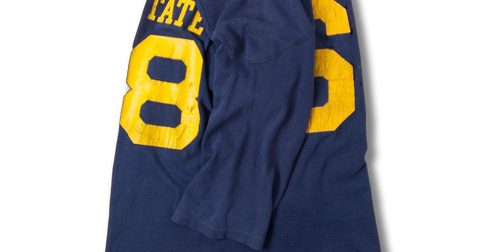 1960年代 チャンピオン ニットウェア コットン フットボールTシャツ 単色タグ