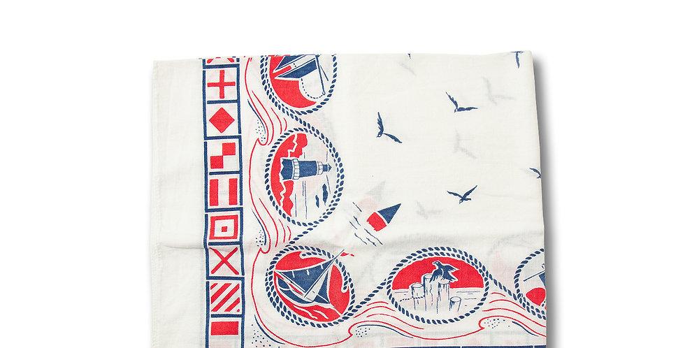 1970年代 ビンテージ バンダナ 国際信号旗柄