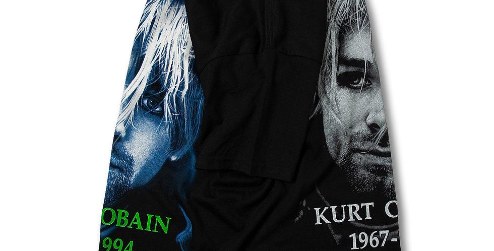 ニルヴァーナ カートコバーン 追悼 Tシャツ 両面プリント