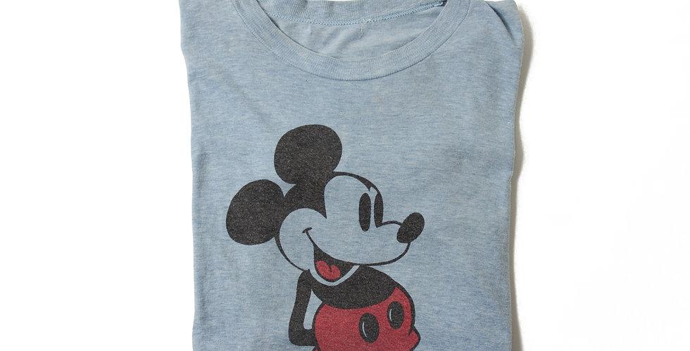 1980年代 ビンテージ ミッキーマウス Tシャツ M-19J