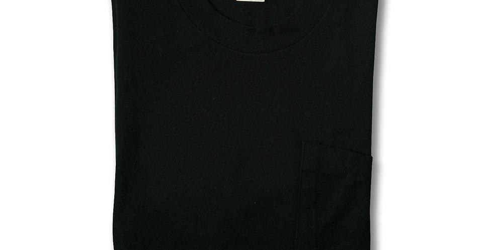 1980年代 フルーツオブザルーム ビッグサイズ ポケT ブラック XXL