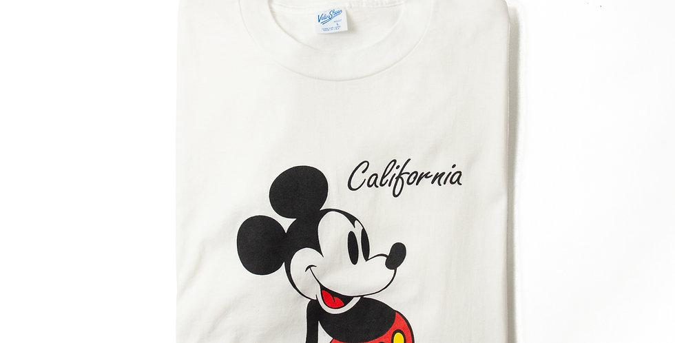 【L】1990年代 ビンテージ ミッキーマウス Tシャツ M-30