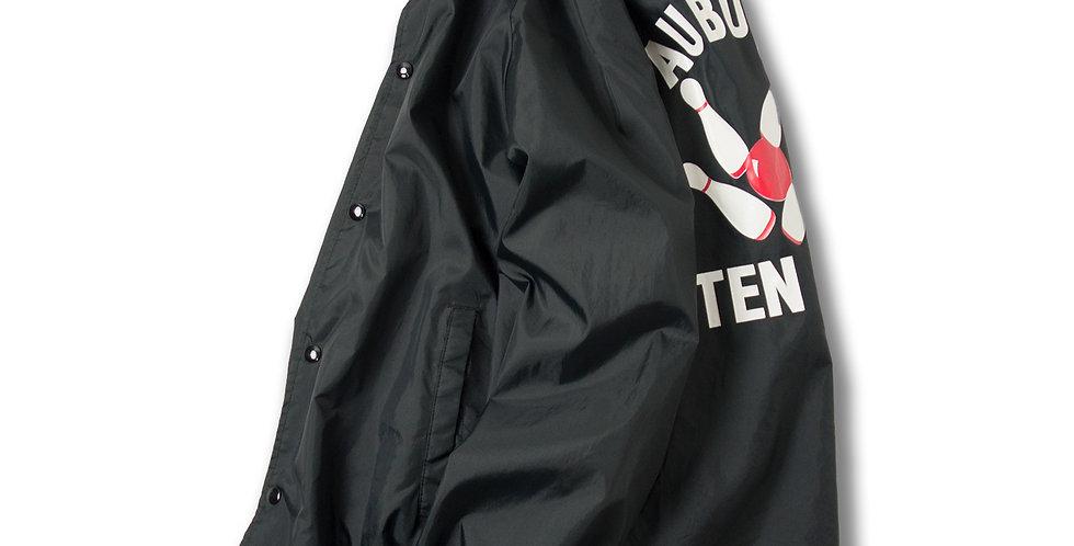 1980年代 AUBURN TEN PIN ナイロンコーチジャケット ブラック