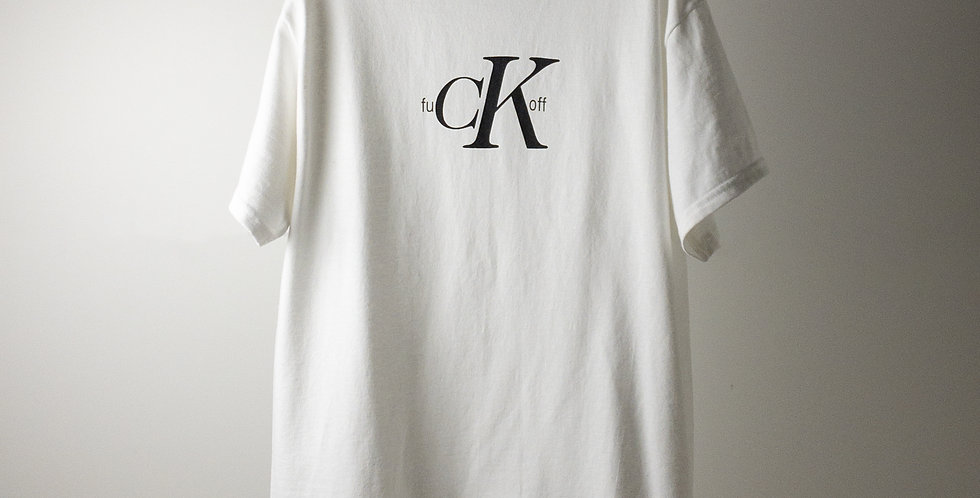 fu CK off Tシャツ ホワイト