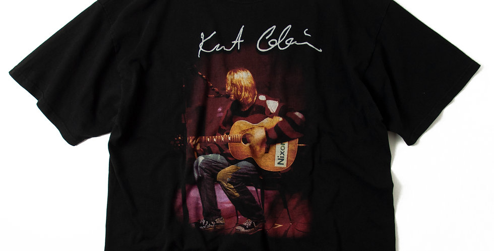 1990's Kurt Cobain Live Photo T Shirt