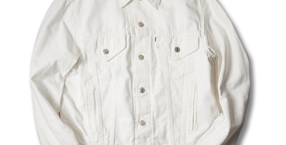 【L】 1980年代 リーバイス 70506 ホワイトデニム