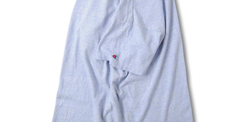 1980年代 チャンピオン ブルー杢 Tシャツ コットントリコタグ 88/12