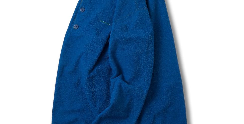 1990年代 パタゴニア キャプリーン ヘンリーネック フリース ブルー S