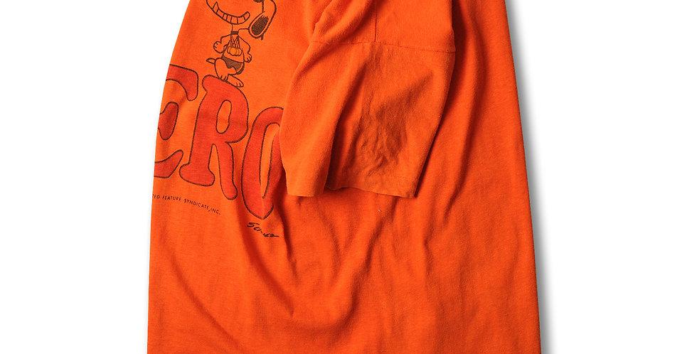 1970年代 チャンピオン バータグ スヌーピー HERO Tシャツ