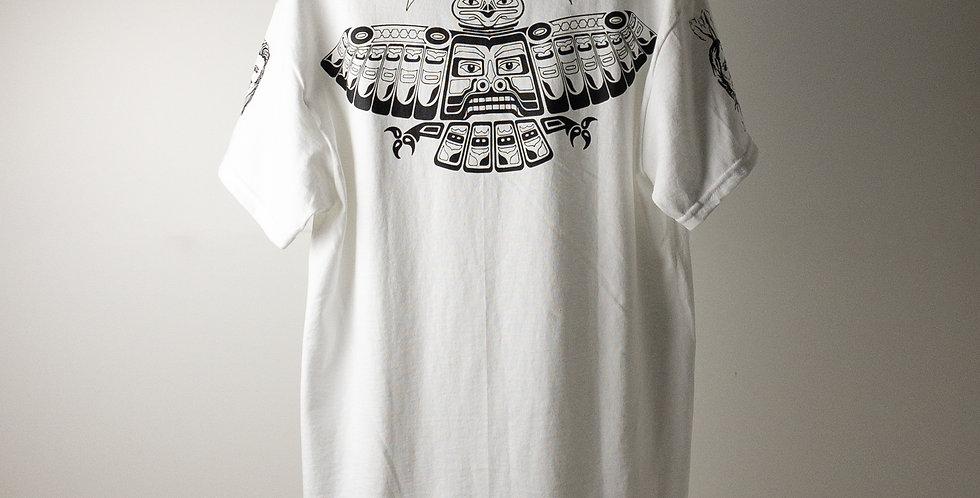 アンソニーキーディス タトゥー Tシャツ ホワイト