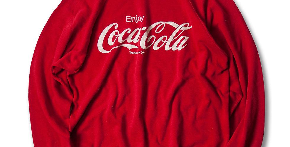 1980年代 コカ・コーラ アメリカ製 ラグランスウェット