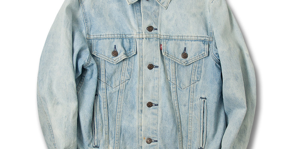 1980年代 リーバイス 70506−0214 デニムジャケット アイスブルー