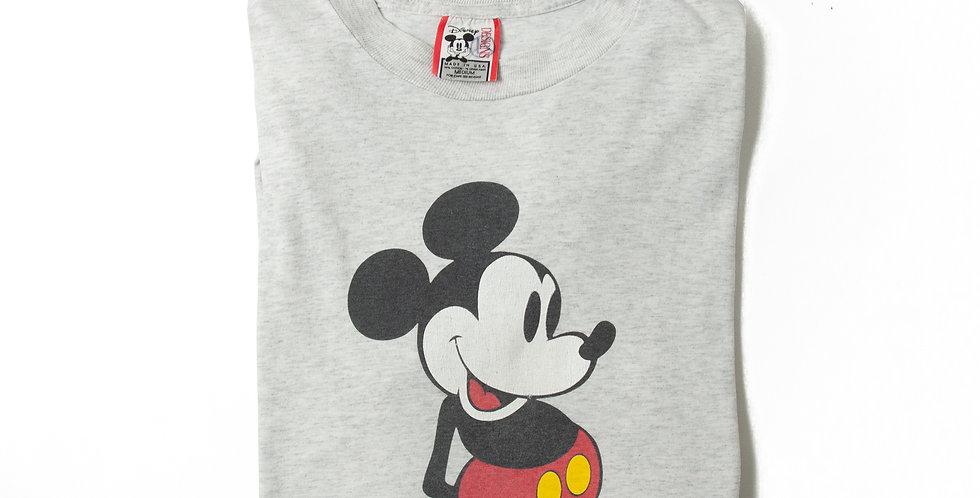【M】1990年代 ビンテージ ミッキーマウス Tシャツ M-23