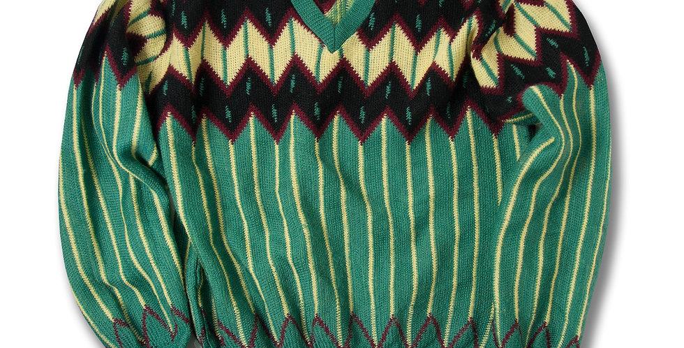 1940年代 RUBY BRAND Vネック セーター